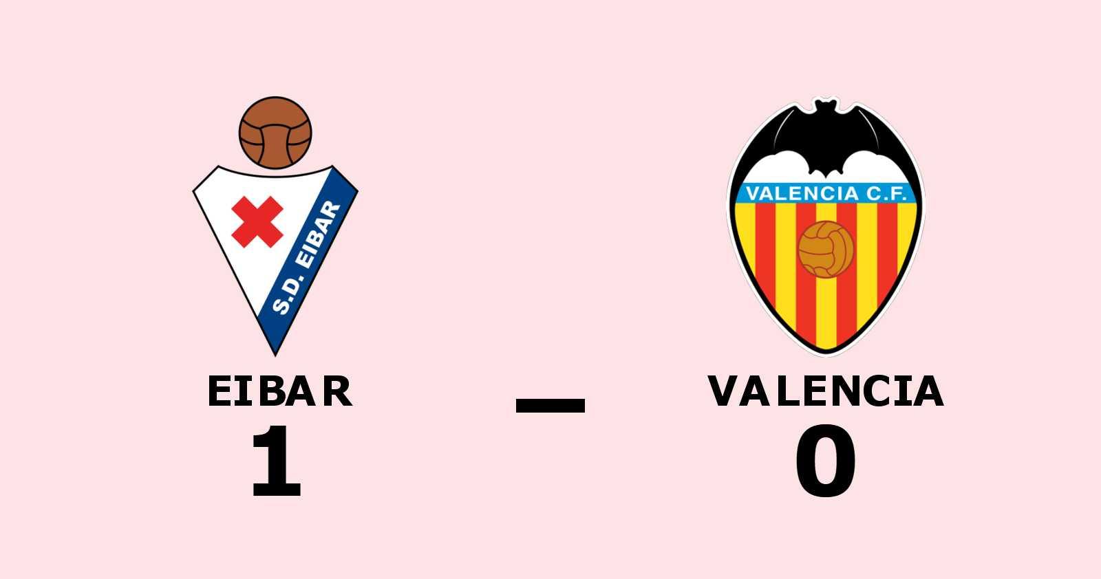 Geoffrey Kondogbia matchhjälte för Eibar mot Valencia