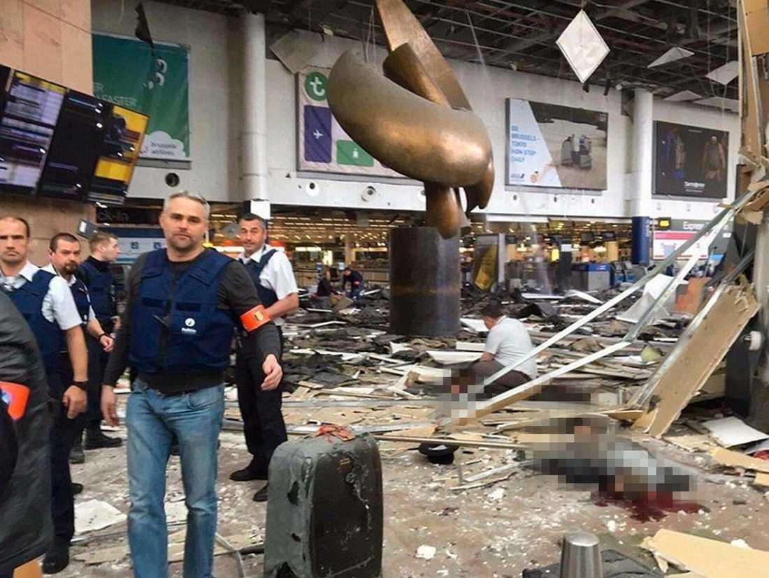 Zaventem flygplatsen i Bryssel