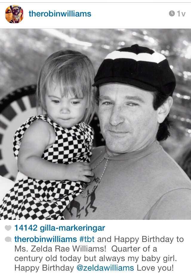 För elva dagar sedan la skådespelaren ut en svartvit bild på Twitter och Instagram föreställande sig själv och hans dotter Zelda Rae.