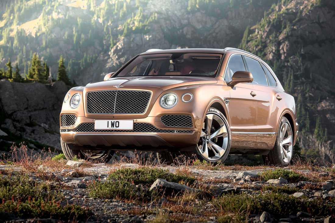 Bentley Bentayga.