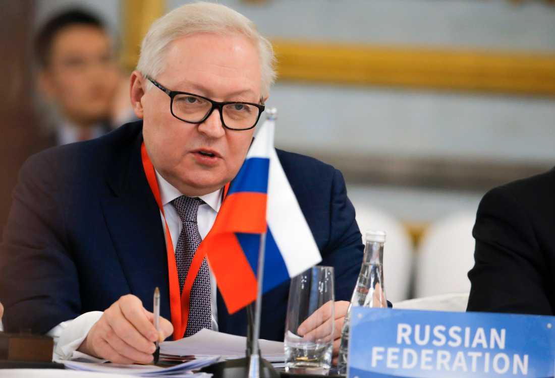 Rysslands vice utrikesminister Sergej Ryabkov är skeptisk till USA:s planer för G7. Arkivbild.