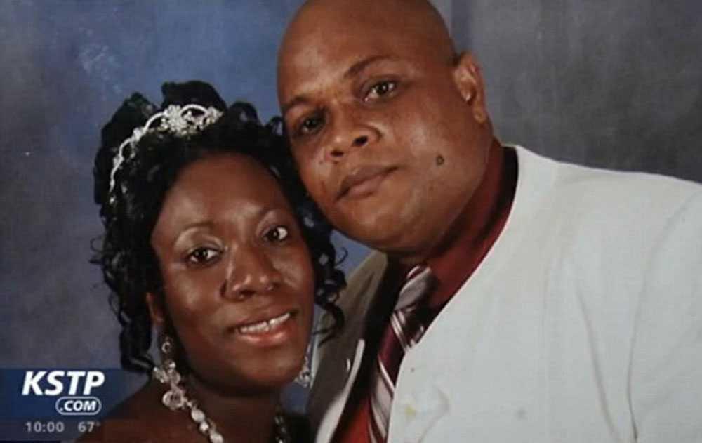 Patrick Sawyer på sitt bröllopsfoto. Sawyer dog i ebola sedan han börjat må dåligt under en flygtur.