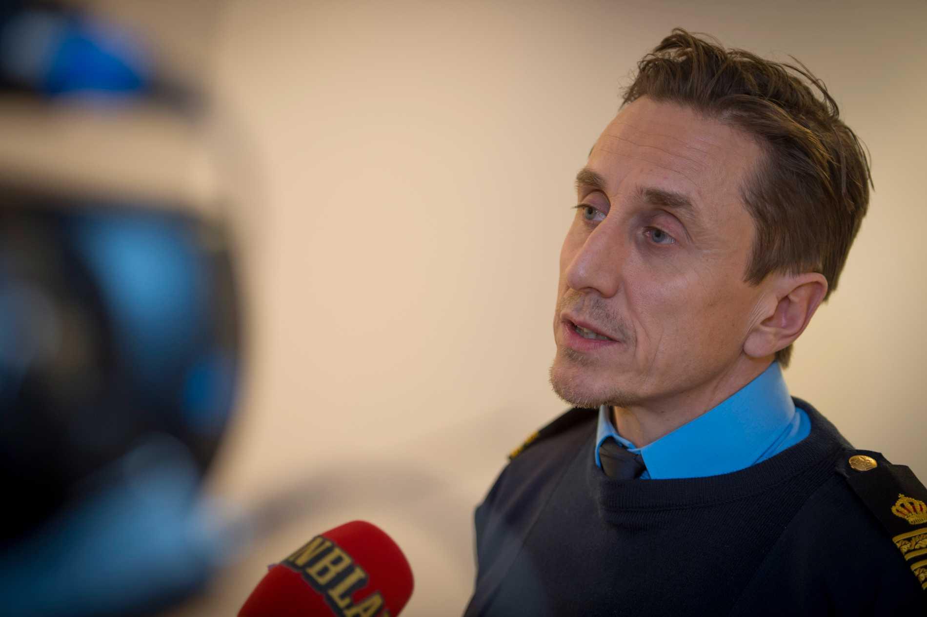 Olle Andersson,  chef för utredningssektionen i Västerbotten.