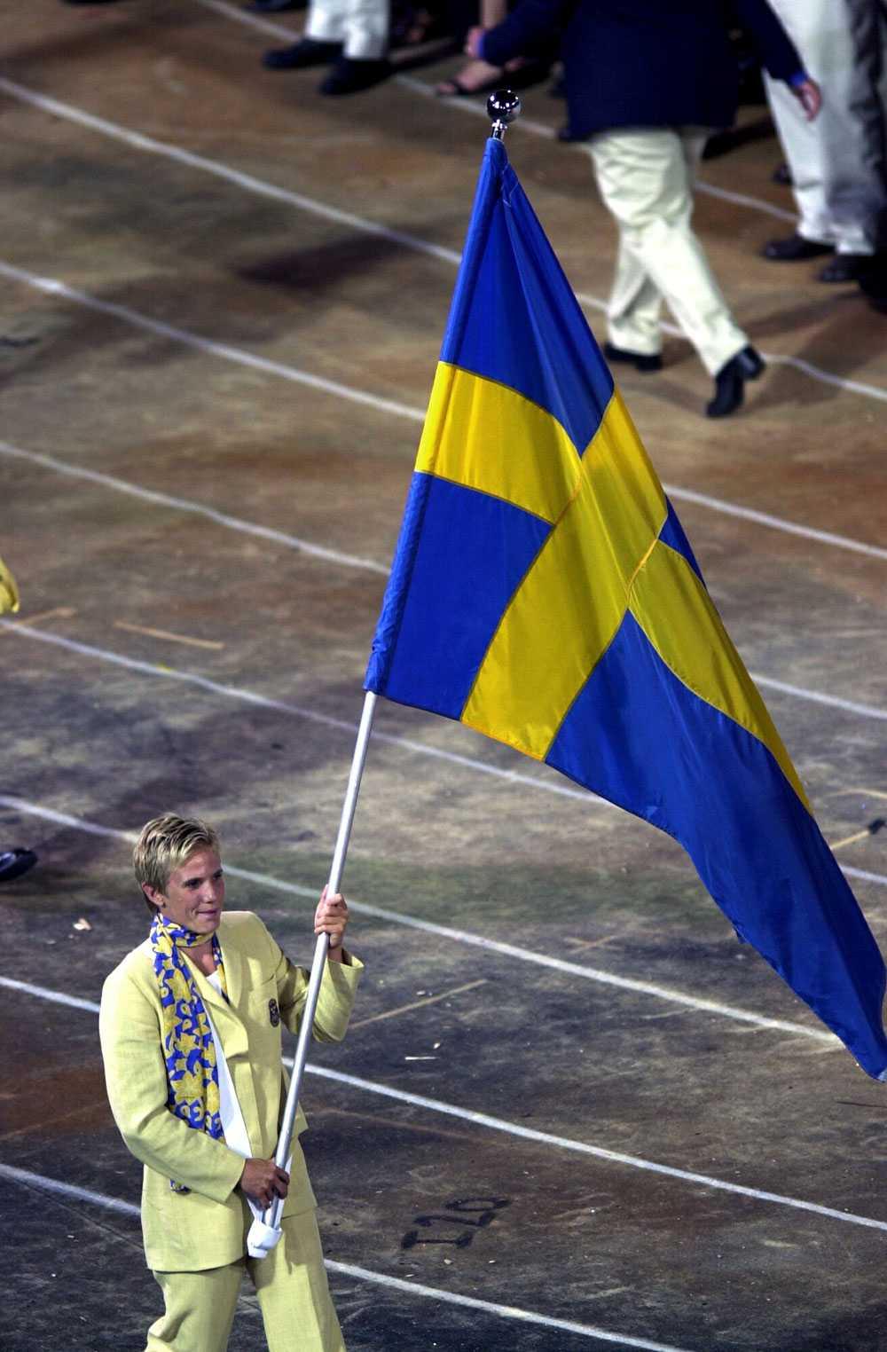 2000 i Sydney: Anna Olsson, kanot.
