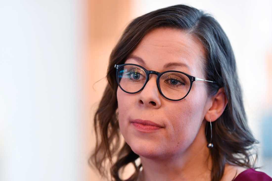 Moderaternas migrationspolitiska talesperson Maria Malmer Stenergard. Arkivbild.