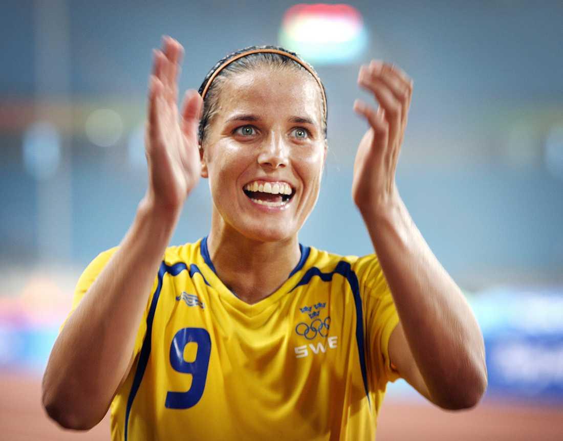 Jessica Landström avgjorde.