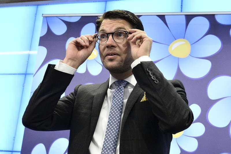 Jimmie Åkesson, partiledare SD.