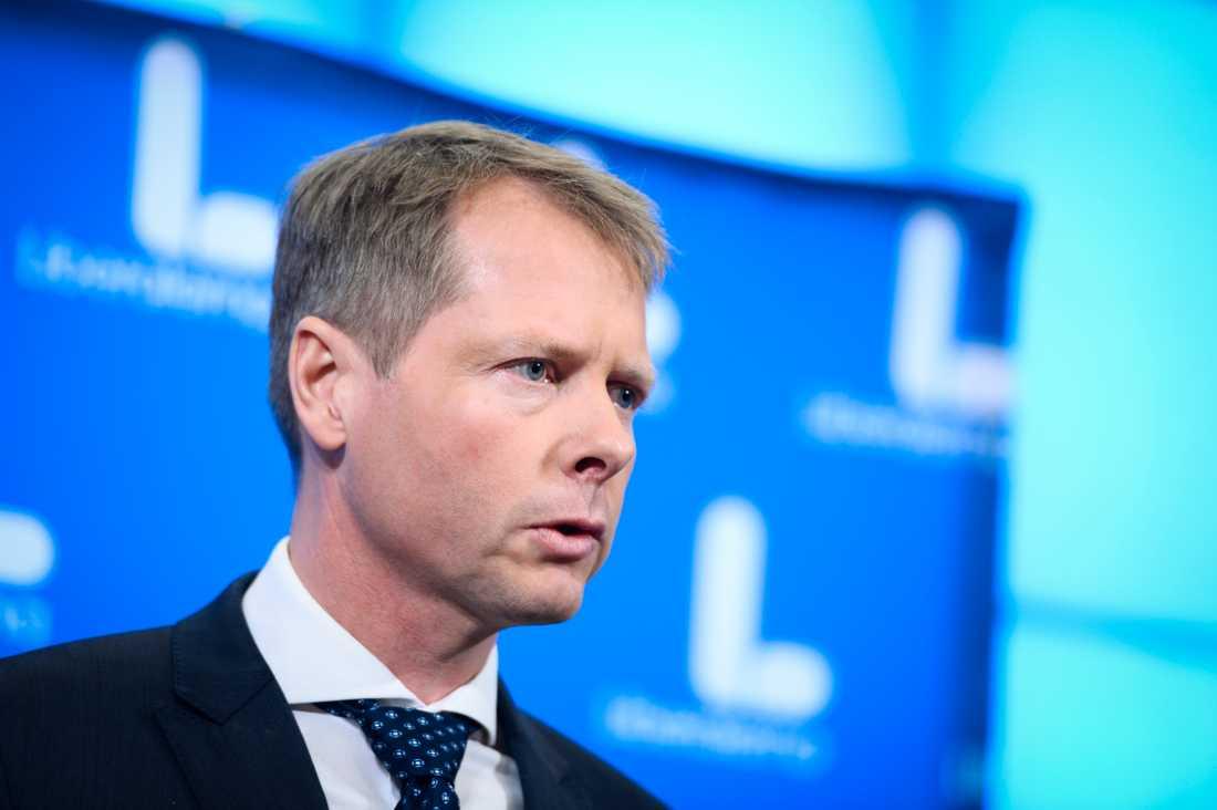 Liberalernas gruppledare Christer Nylander