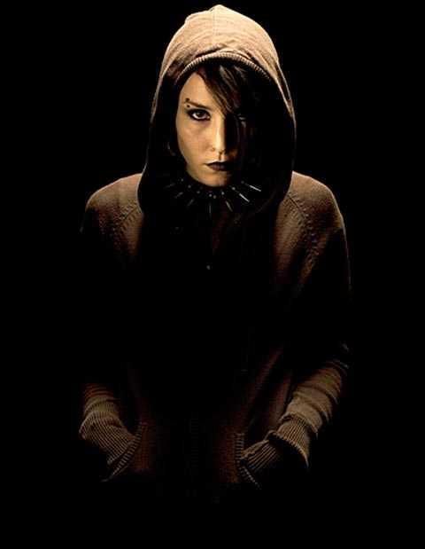 """Noomi Rapace som Lisbeth Salander i """"Män som hatar kvinnor""""."""