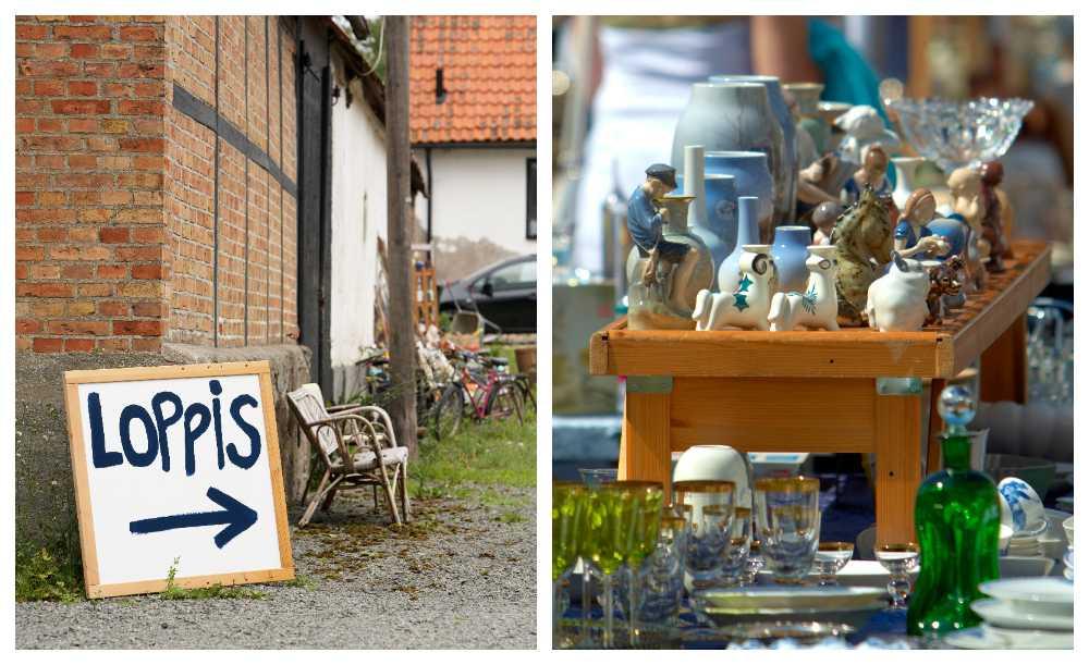 Hitta loppisar och antikmarknader med vår guide.