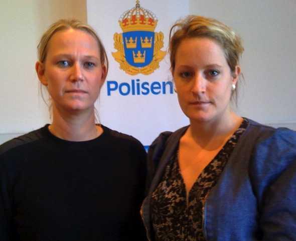 Aftonbladets Josefin Turesson och Jessica Balksjö är på plats i Malmö.