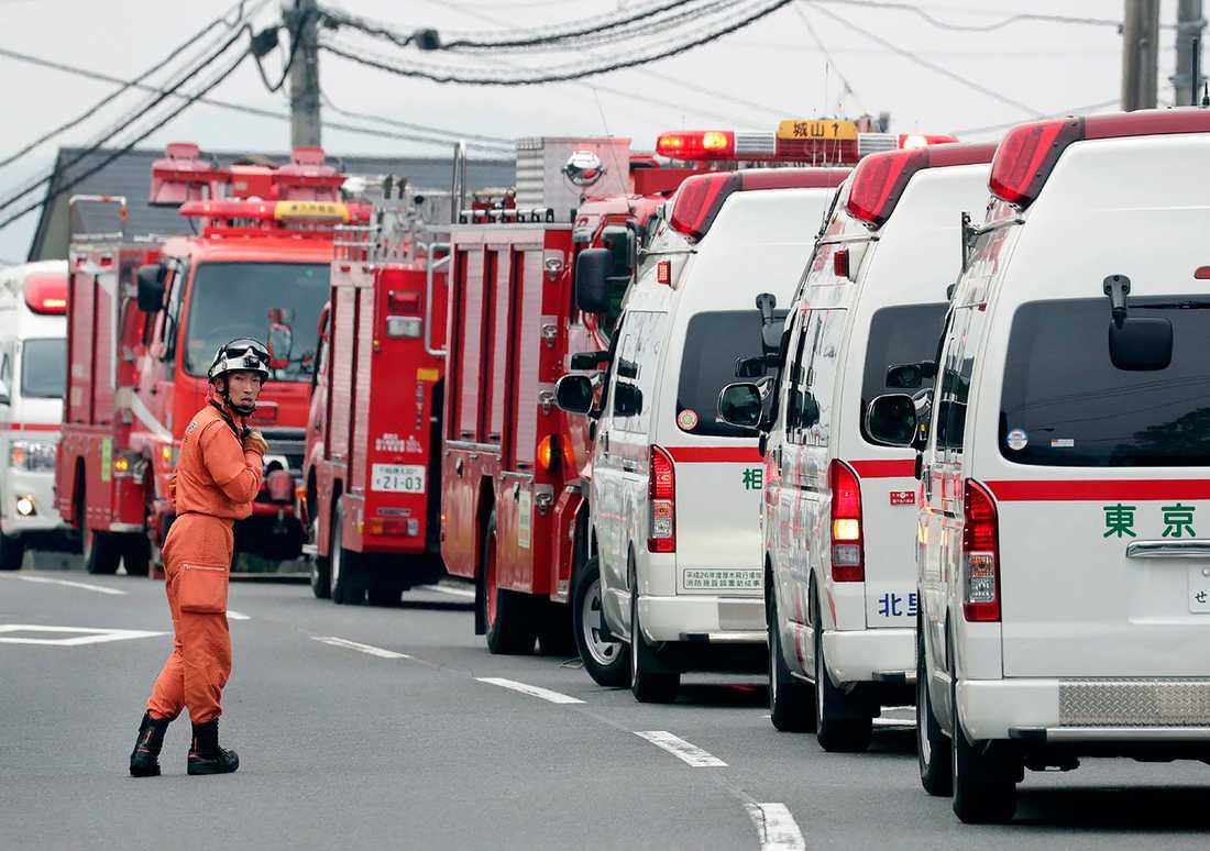 19 personer dödades och 26 skadades i attacken.
