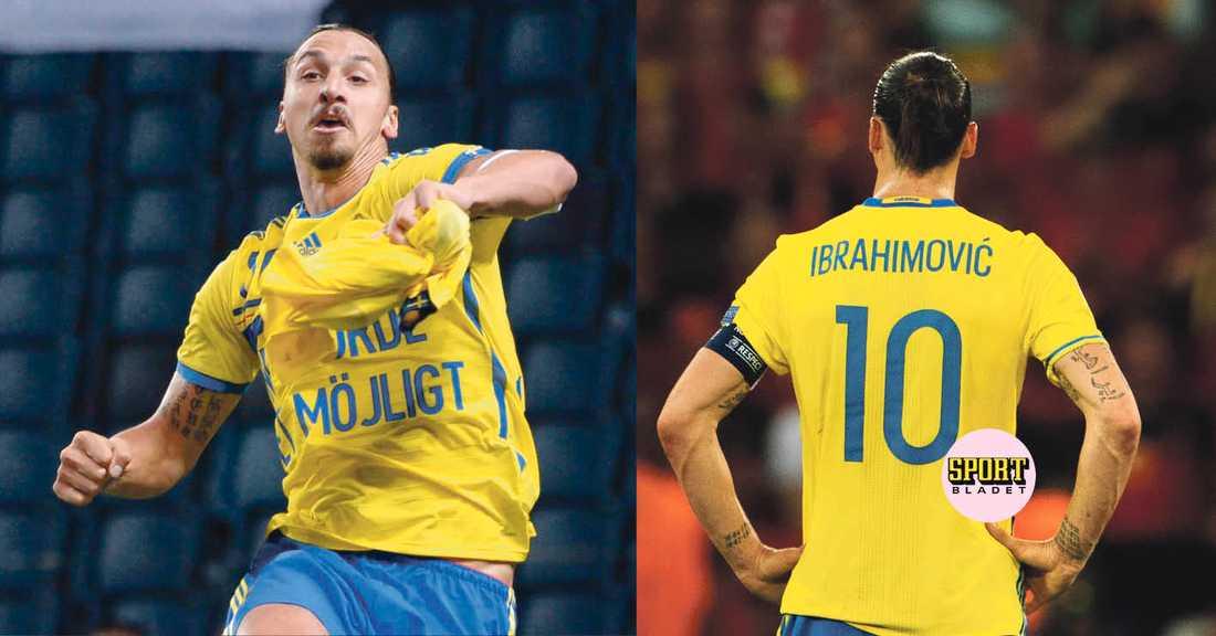 Zlatan Ibrahimovic är uttagen i den landslagstrupp som möter Georgien och Kosovo i VM-kvalet.
