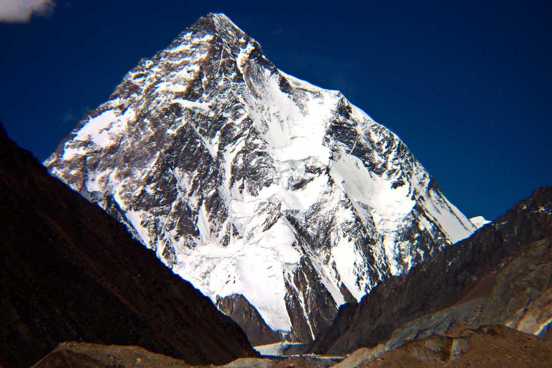 Nepalesiska klättrare uppges vara de första att nå toppen på berget K2 på vintern. Arkivbild.