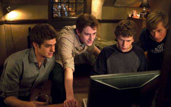 "Bild ur filmen ""The Social Network""."