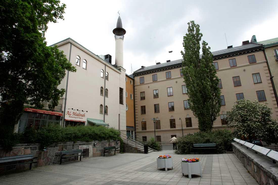 Stockholms moské på Södermalm.