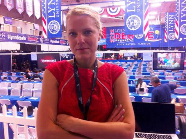 Aftonbladets Carina Bergfeldt på plats.