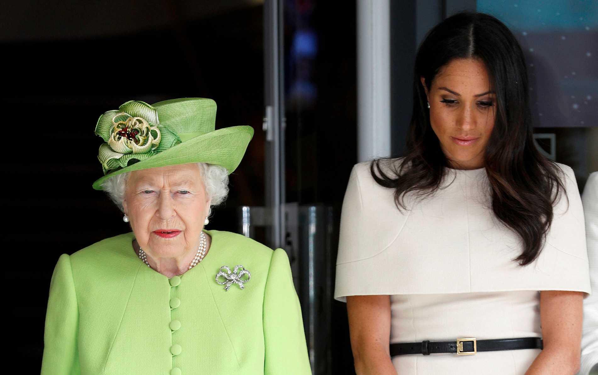 Drottning Elizabeth och Meghan Markle är inte överens om vilken kost den nya kungliga bebisen ska få.