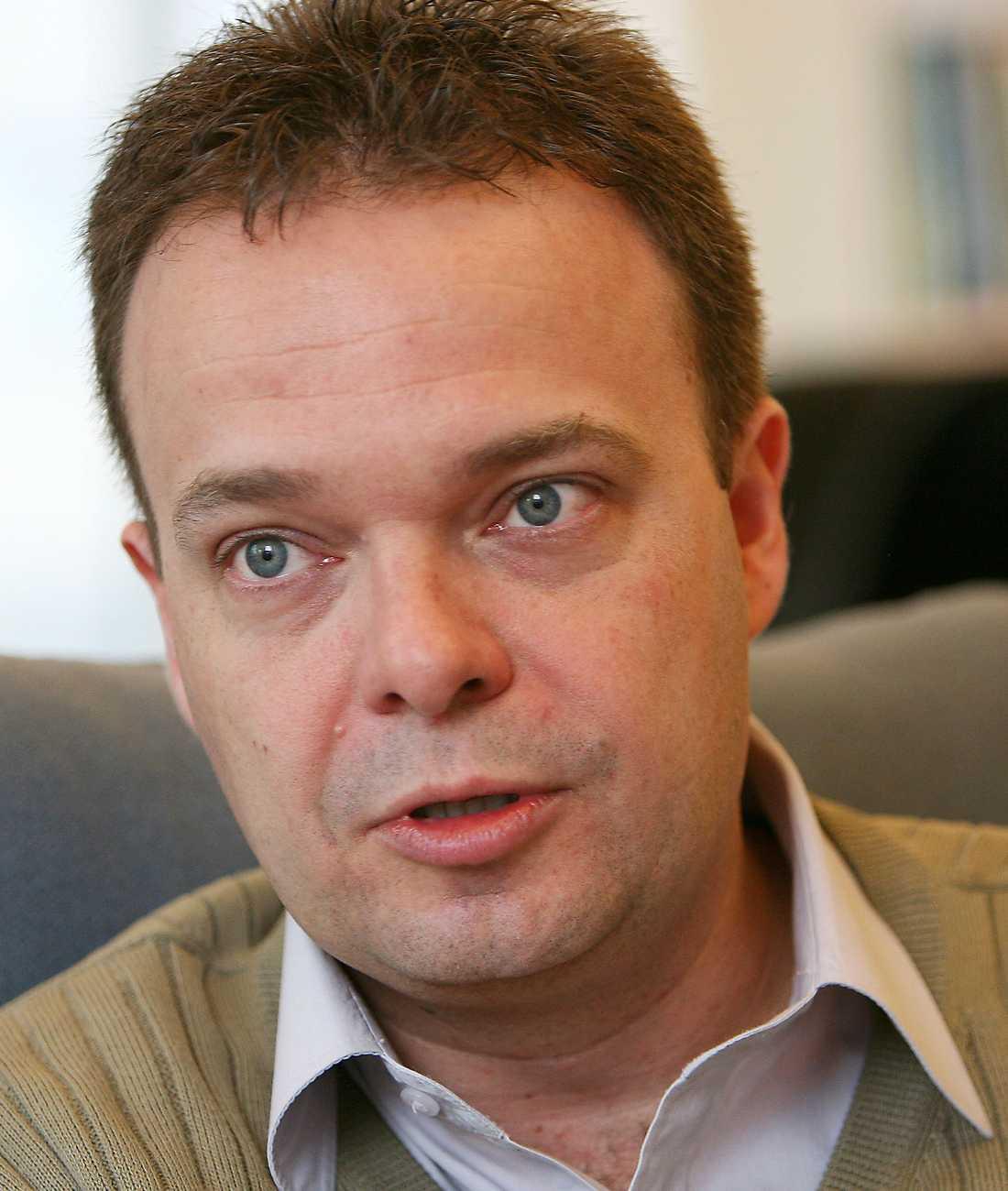 Sven-Otto Littorin, arbetsmarknadsminister.