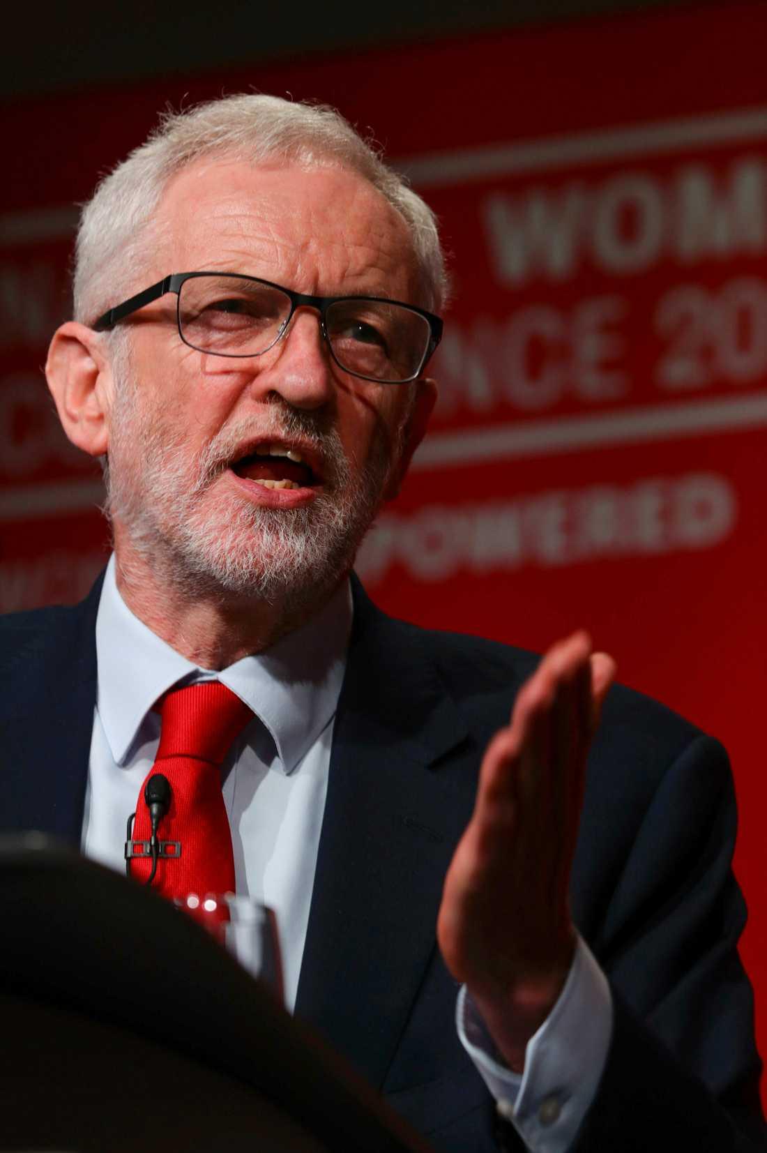 Labour-ledaren Jeremy Corbyn.