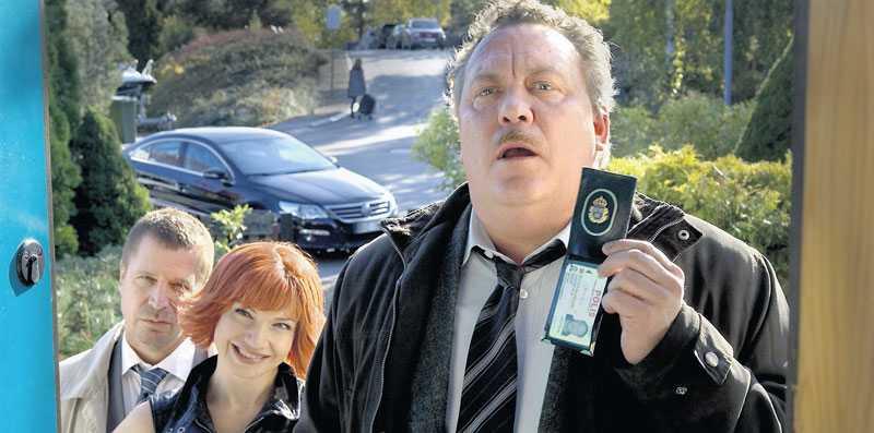 INTE FULLSPÄCKAT MED SKRATT Teamet bakom filmen har varit lika kreativt som en parkeringsautomat. Foto: SF