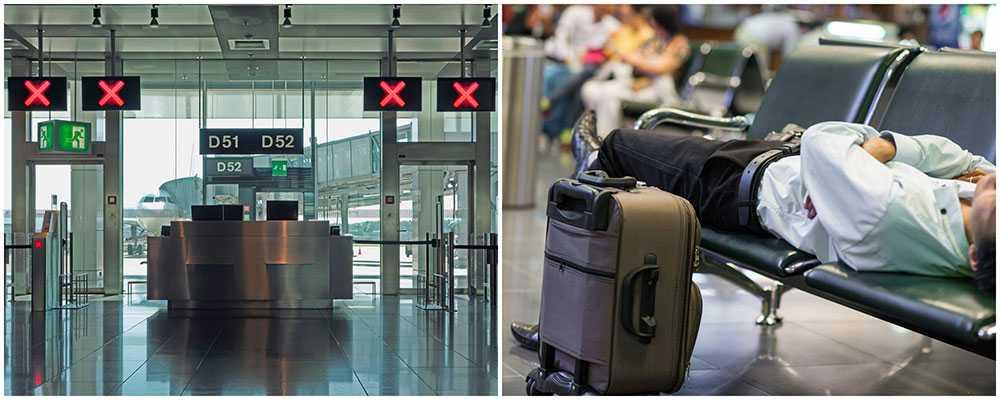 Flera flygplatser hotas av strejk i veckan.