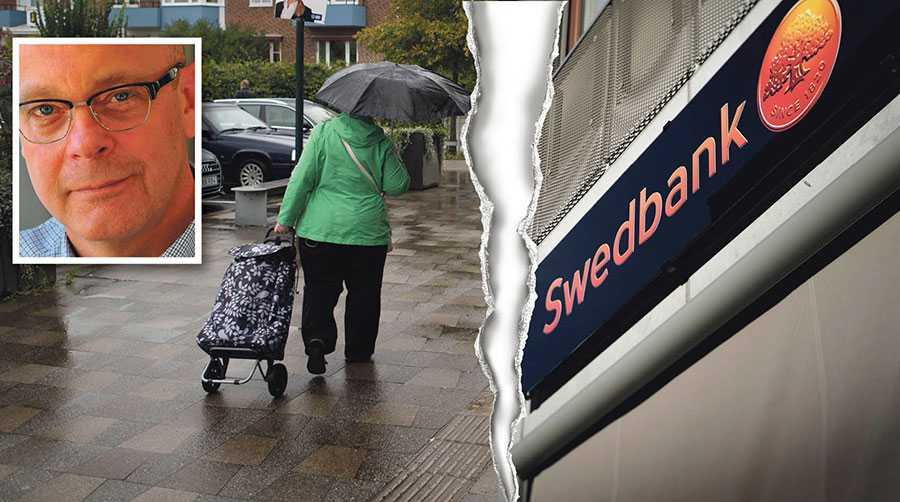 De metoder som banken nu använder i jakten på potentiella penningtvättare är ännu ett fel i spåren av den skandal som nu hotar att rasera Swedbank och därmed hela sparbanksrörelsen, skriver Torgny Jönsson.
