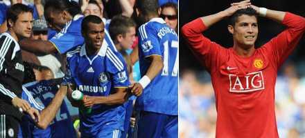 Chelsea hade lättare att jubla efter slutsignalen. Cristiano Ronaldos inhopp gav inte något mål.