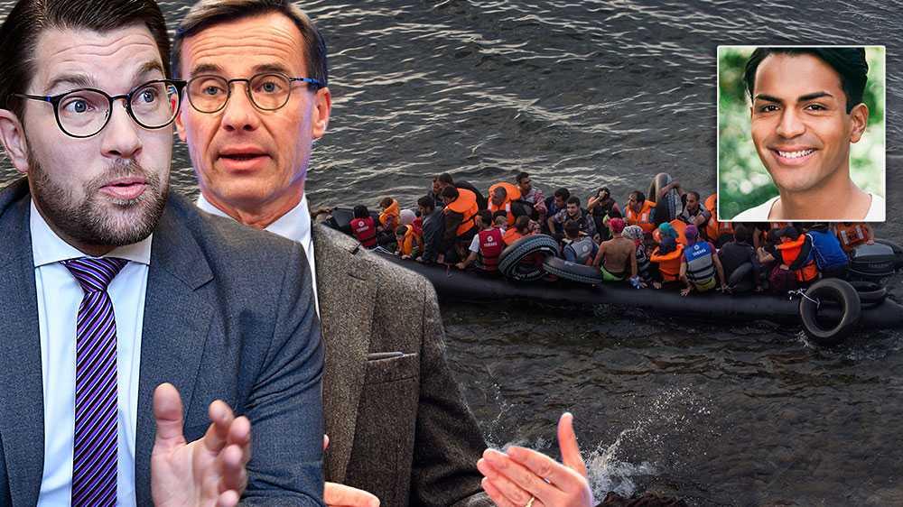 Det nya konservativa blockets otillräckliga klimatpolitik kommer oundvikligen leda till enorma flyktingvågor. Det är dags att Jimme Åkesson och Ulf Kristersson slutar hymla och är öppna med att man struntar i både flyktingar och klimatet, skriver  Philip Botström, SSU.