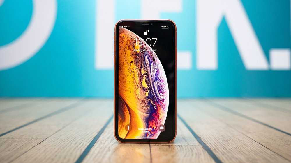 Test av Iphone Xr.