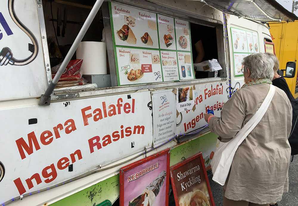 Foodtruck på fjolårets Järvaveckan.