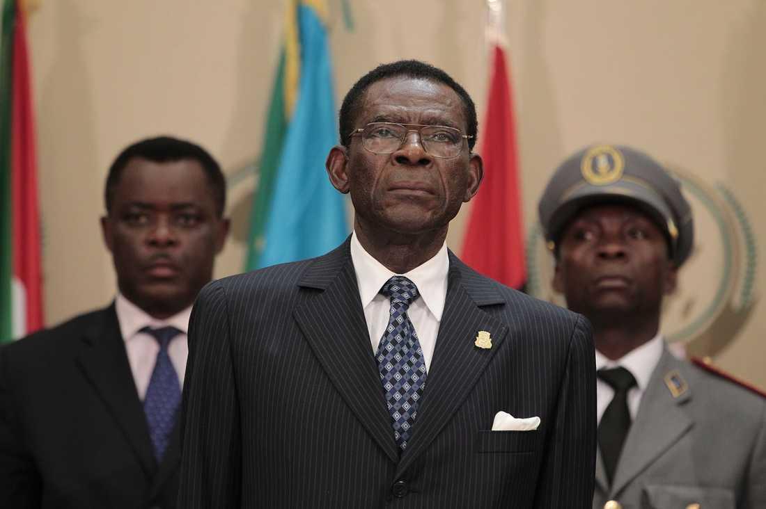 Teodoro Obiang – pappan i familjen – har nu haft makten i Ekvatorialguinea i nästan 33 år.