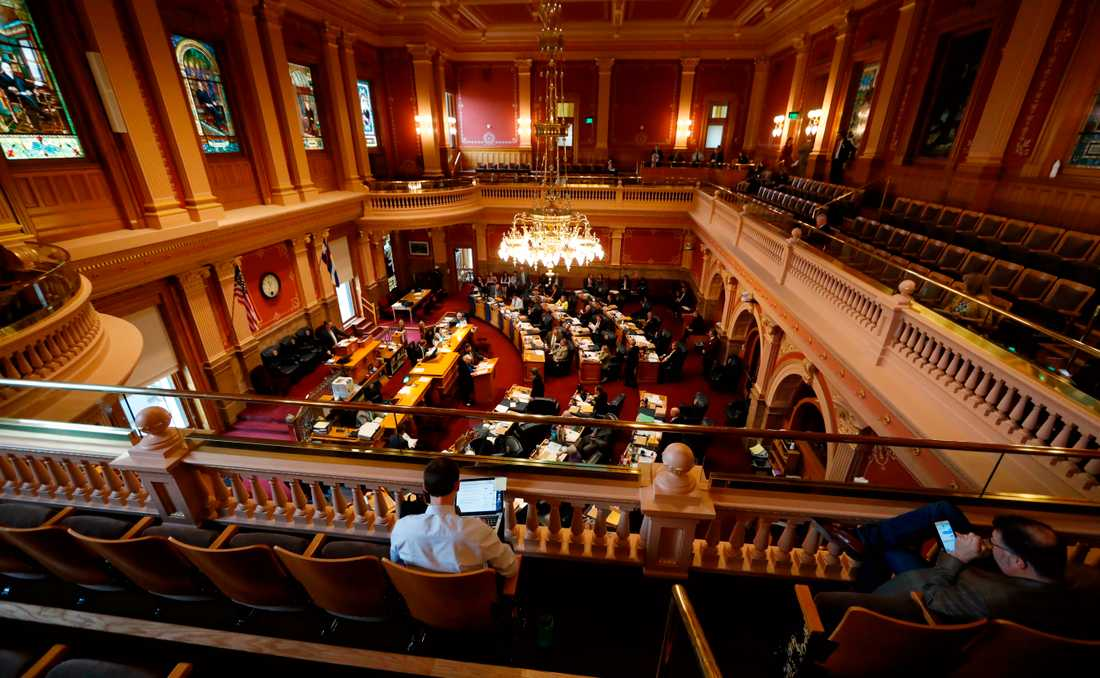 Senaten i Colorado (bilden) röstade för att avskaffa dödsstraff i slutet av februari och nu har guvernören skrivit under lagen så att den träder i kraft. Arkivbild.