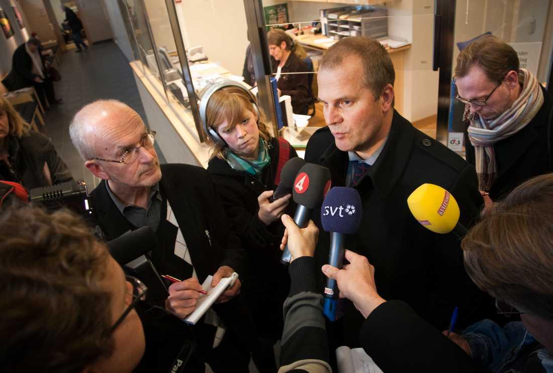 Åklagare Bengt Åsbäck.