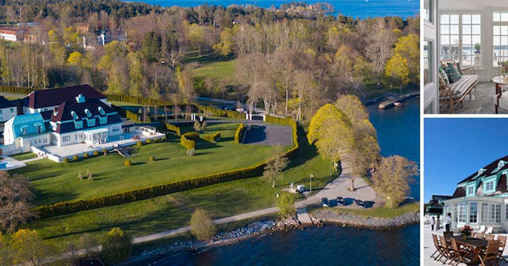 Sveriges dyraste hus till salu för 350 miljoner