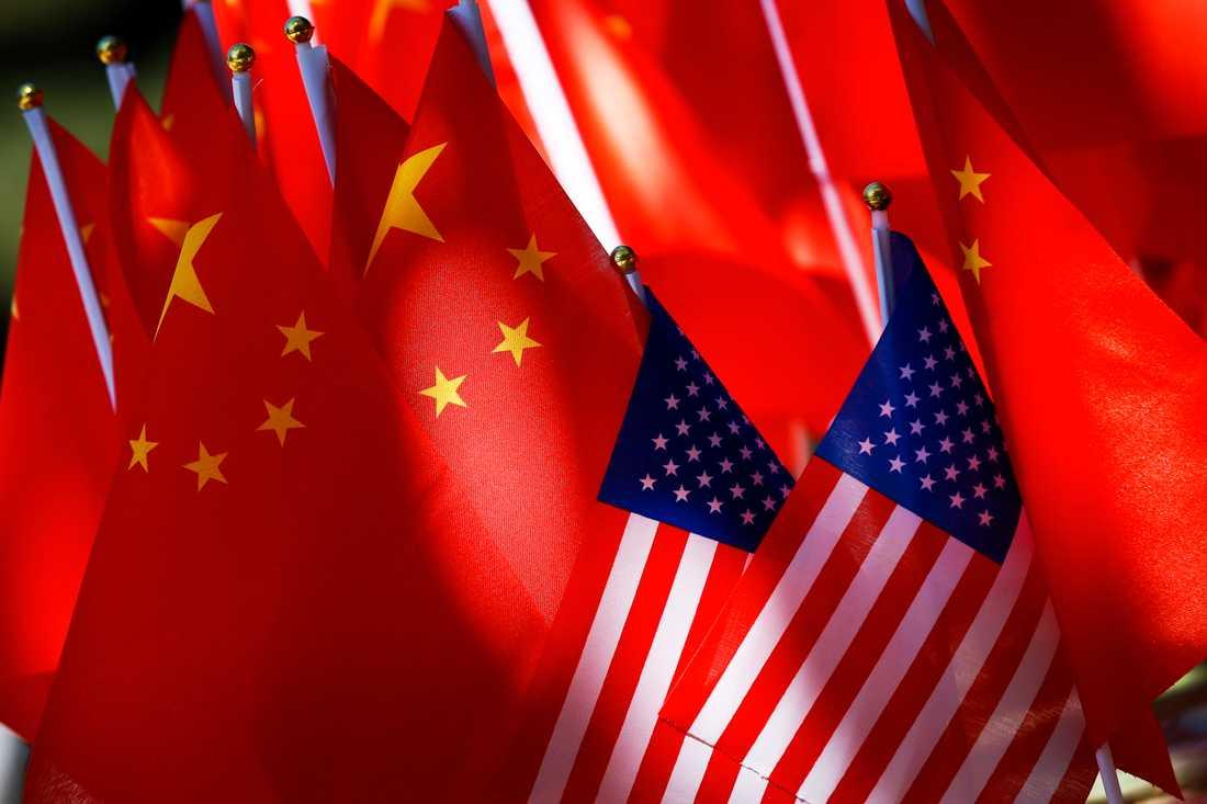 Kina anser att Mike Pences anklagelser om att Kina lägger sig i amerikanska val är obefogade. Arkivbild.