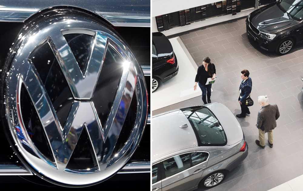 Volkswagen kan erbjuda rabatter för att byta till nya dieselbilar.