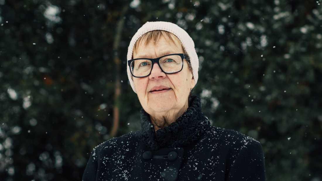 Poeten Tua Forsström (född 1947)