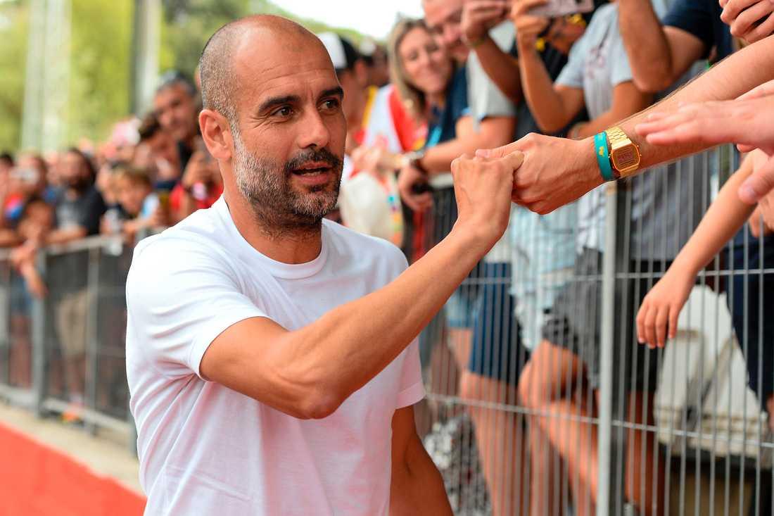 Pep Guardiolas bror Pere är inblandad.