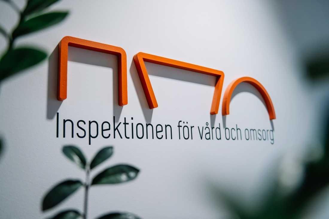 Logga på IVO, Inspektionen för vård och omsorg.