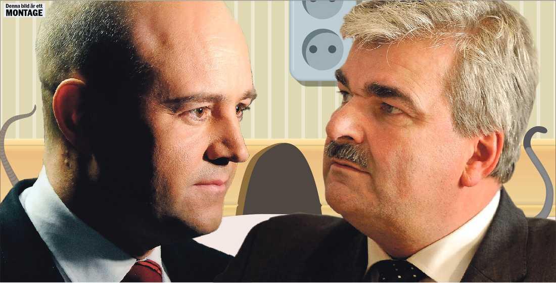 Dags för kamp Idag möts Reinfeldt och Juholt för första gången.
