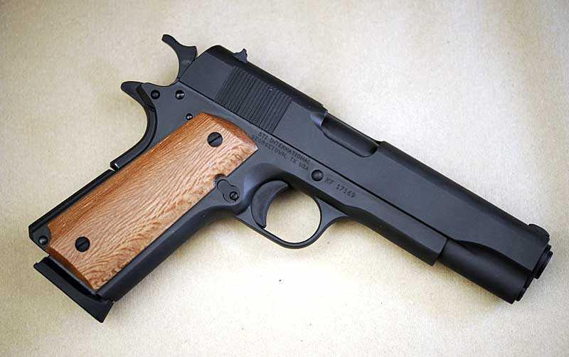 Vapnet vid dagens dåd ska vara samma som använts vid tidigare skjutningar. (Pistolen på bilden är av samma typ.)