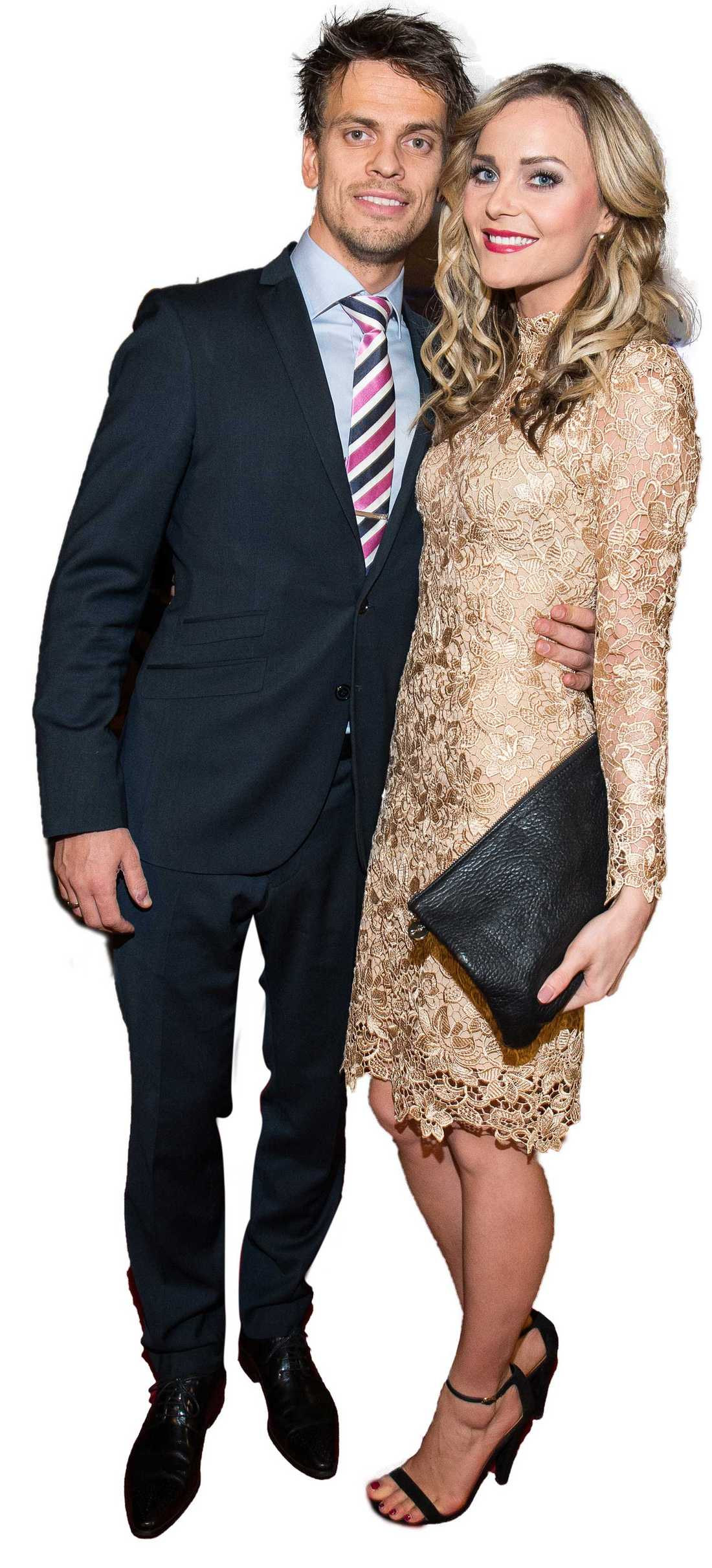 Lars-Kristian och Caroline Berg Eriksen.