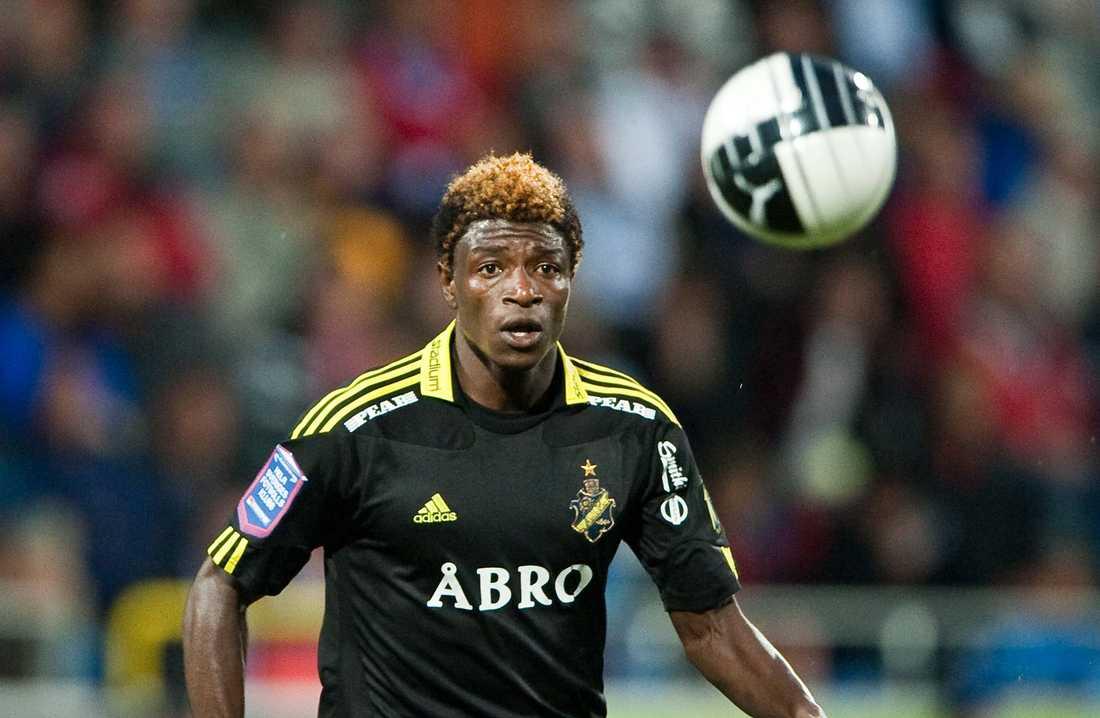 Mohamed Bangura avgjorde för Sierra Leone i kväll.