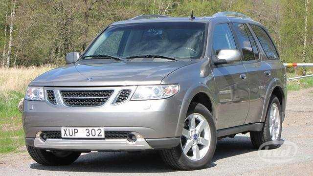 Saab 9-7X var egentligen en illa förtäckt Chevrolet TrailBlazer