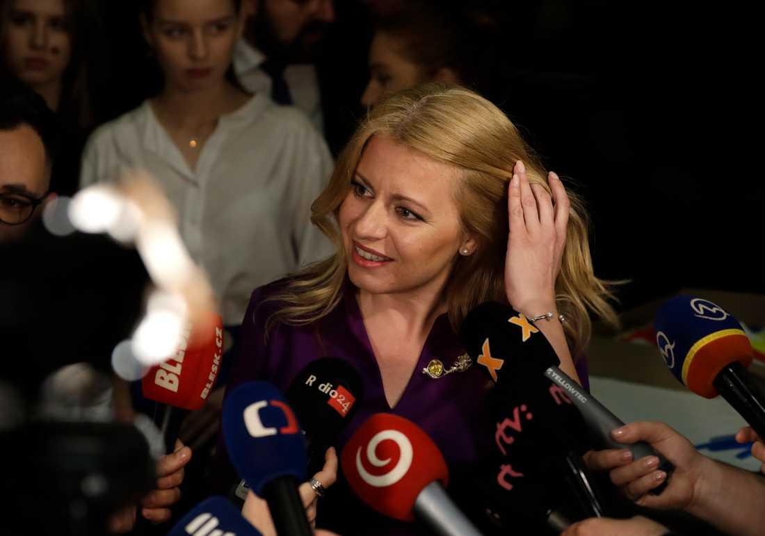 Mot alla odds valdes Zuzana Caputova till president i Slovakien.