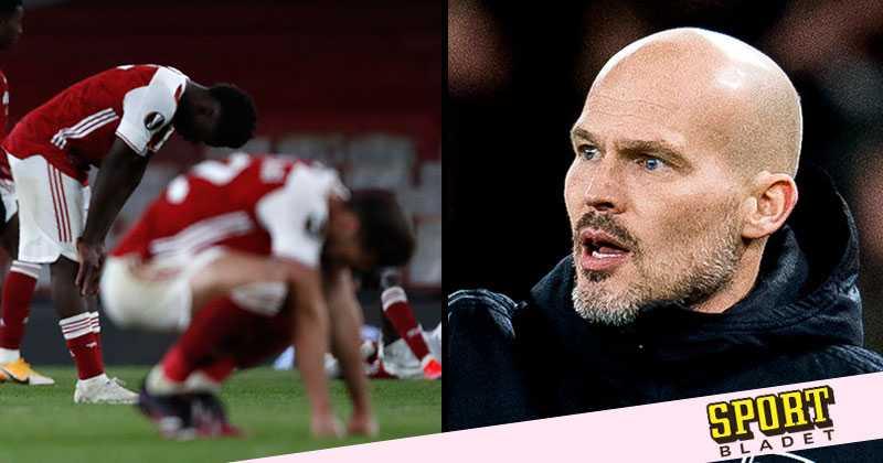 """Ljungberg efter Arsenals uttåg: """"Chockad"""""""