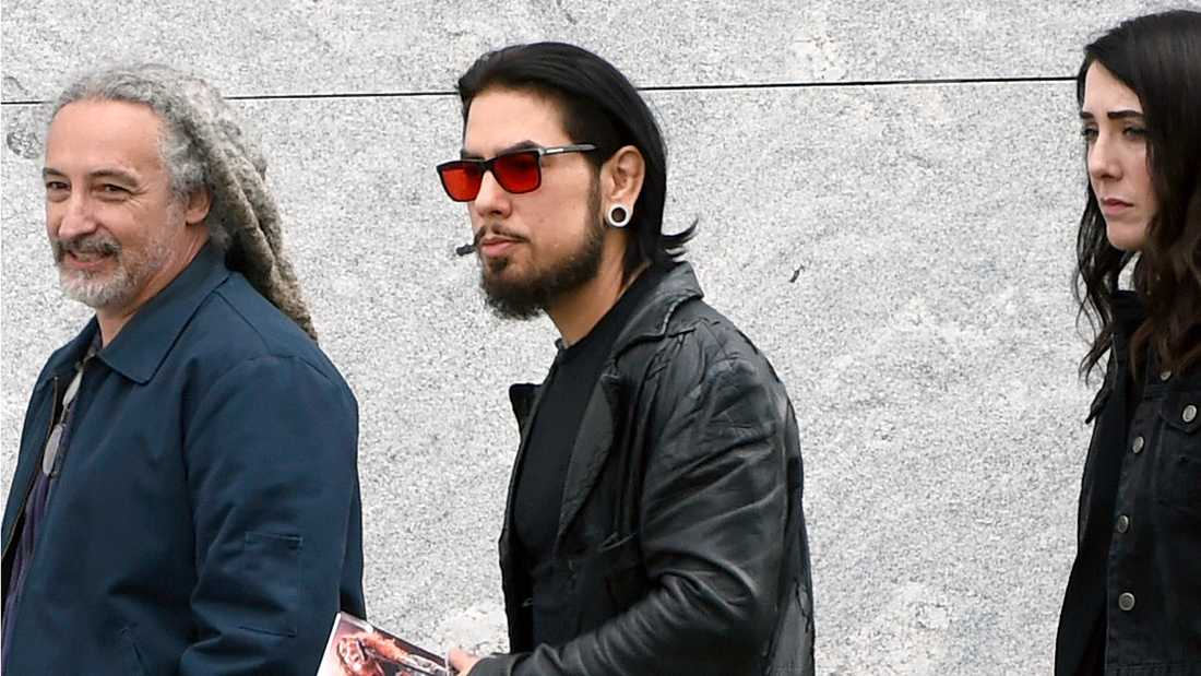 Musikern Dave Navarro.
