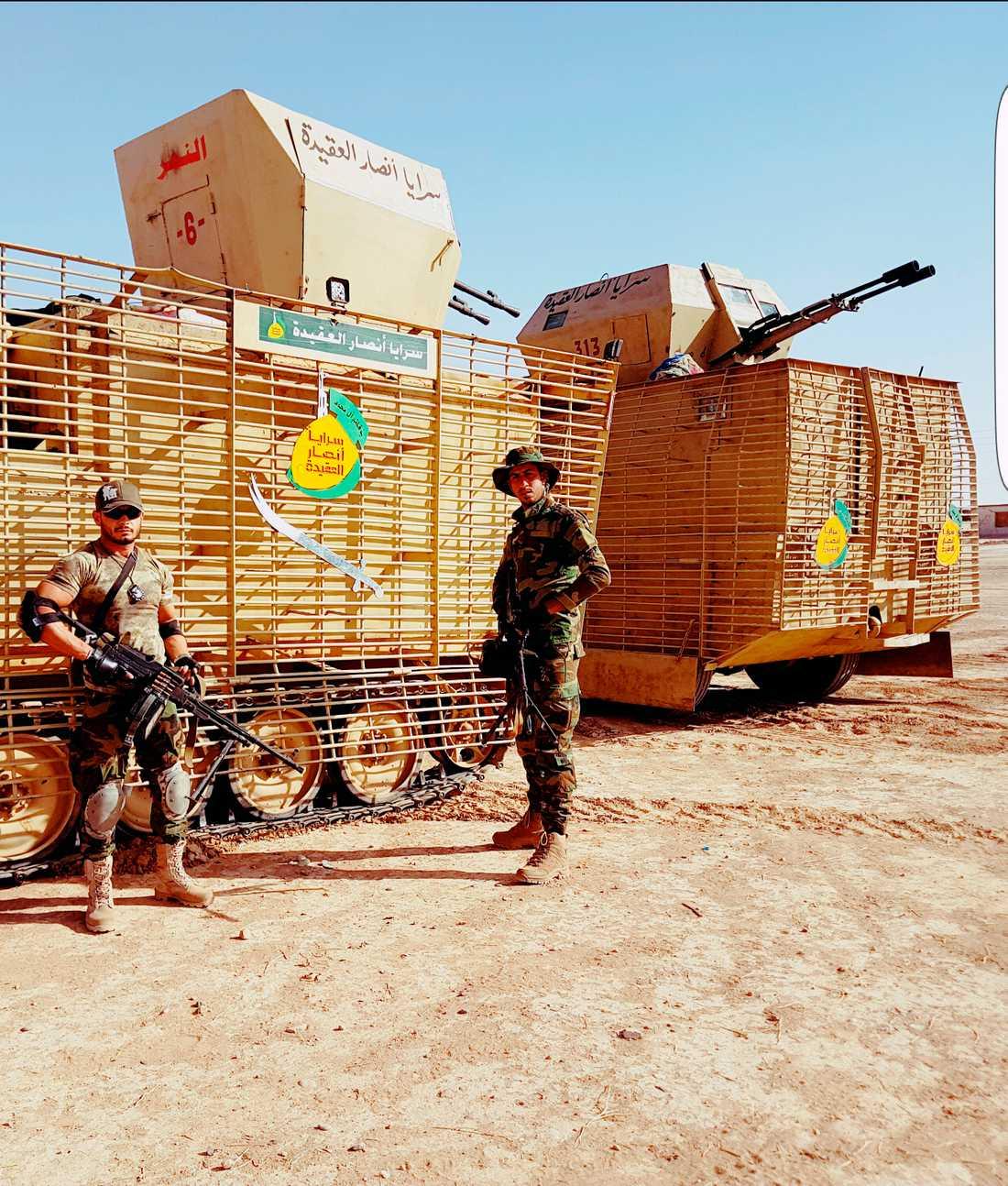 Att blockera IS reträttvägar från Mosul är en av PMU-milisens viktigaste uppgifter.