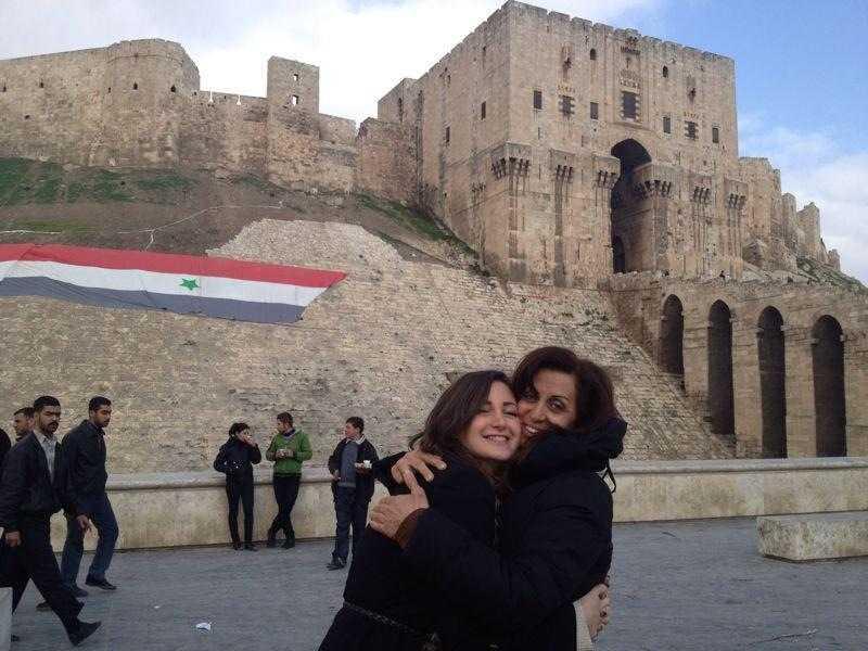 Aleppo 2012: När Rihan Younan besökte Syrien förra året med sin mor rapporterade Al Jazeera om upplopp på en plats där hon själv såg att allt var påhittat.